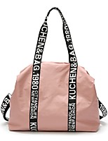cheap -Women's Bags Nylon Shoulder Bag Zipper Black / Blushing Pink / Gray