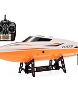 cheap -RC Boat H105 (H103) ABS 4pcs Channels 28-30km/h KM/H