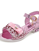 cheap -Girls' Shoes PU Summer Comfort Sandals for Casual Gold Silver Pink