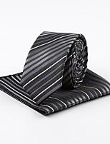 cheap -Men's Vintage Work Necktie - Striped Jacquard