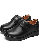 abordables -Garçon Chaussures Cuir Printemps Automne Confort Mocassins et Chaussons+D6148 pour Décontracté Noir