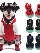 cheap -Dogs Boots / Shoes Sports & Outdoors Ultra Slim Galaxy Mesh Fashion Black Red Blue For Pets