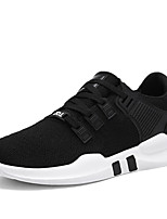 cheap -Men's Shoes Knit Spring Summer Comfort Sneakers for Casual Black Gray Black/White Black/Red
