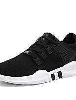 abordables -Homme Chaussures Tricot Printemps Eté Confort Basket pour Décontracté Noir Gris Noir/blanc Noir/Rouge
