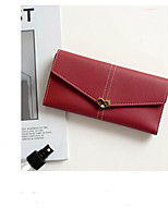 cheap -Women's Bags PU Wallet Buttons for Casual Black / Red / Gray