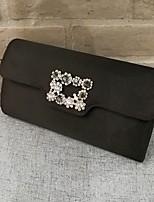 baratos -Mulheres Bolsas PVC Bolsa de Mão Ziper para Casual Preto / Vermelho / Rosa