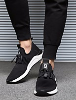 cheap -Men's Shoes Synthetic Fall / Winter Comfort Sneakers White / Black
