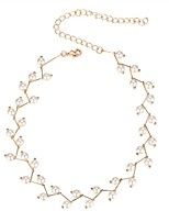 cheap -Women's Imitation Pearl Choker Necklace - Fashion Sweet European Drop Irregular Unique Necklace For Party