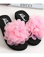 cheap -Women's Shoes EVA Summer Comfort Slippers & Flip-Flops Wedge Heel for Purple Yellow Pink