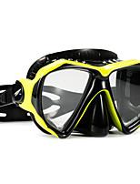 abordables -Masque de Nage Masque de Snorkeling Anti buée Explosion-Proof Natation Plongée PC - TUO