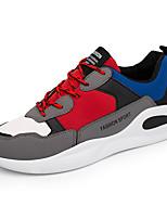 Недорогие -Муж. обувь Искусственное волокно Весна / Осень Удобная обувь Кеды Черный / Желтый / Красный