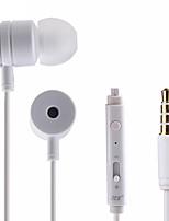 abordables -S10 Dans l'oreille Entrée Audio Ecouteurs Dynamique Aluminum Alloy Sport & Fitness Écouteur Avec contrôle du volume Avec Microphone Casque
