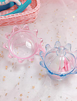 cheap -Crown Plastic Favor Holder with Wave-like Favor Boxes - 24