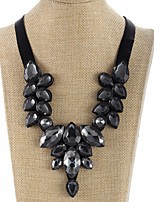cheap -Women's Drop Collar Necklace  -  Statement Sweet Black 46cm Necklace For Evening Party Street