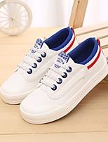 Недорогие -Мальчики Обувь Полотно Весна / Осень Удобная обувь Кеды для Черно-белый / Белый / синий / Wit En Groen