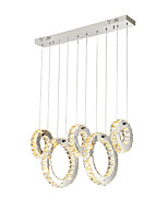 cheap -ZHISHU Chandelier Ambient Light - Crystal Multi-shade Mini Style, Nature Inspired Chic & Modern, 220-240V, Warm White+White, Bulb Included