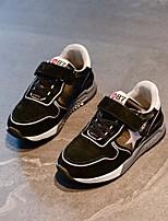 abordables -Fille Garçon Chaussures Cuir Automne Confort Chaussures d'Athlétisme Course à Pied pour Décontracté De plein air Noir Gris Vert Véronèse