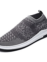 cheap -Men's Shoes Tulle Spring Fall Comfort Sneakers Running Shoes for Casual Dark Grey Light Grey Black/White