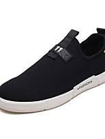 Недорогие -Муж. обувь Резина Весна / Лето Удобная обувь Кеды Черный / Красный / Черный / Желтый