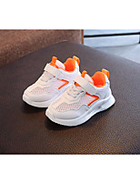 cheap -Girls' Boys' Shoes Tulle Spring Fall Comfort Sneakers for Casual Outdoor Black Orange Green