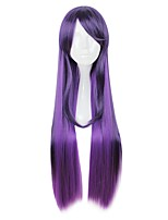 cheap -Cosplay Wigs LOL Other Anime Cosplay Wigs 80cm CM Heat Resistant Fiber All