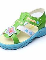 cheap -Girls' Shoes PU Summer Comfort Sandals for Casual Yellow / Green / Blue