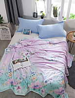 cheap -Comfortable 1pc Bedspread 1pc Quilt, Hand-made Reactive Print Floral Summer