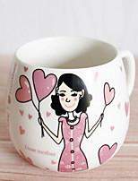 cheap -Drinkware Porcelain Mug Girlfriend Gift Boyfriend Gift 1pcs