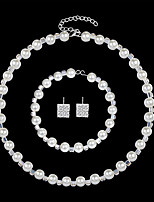 cheap -Women's Jewelry Set - European, Fashion, Elegant Include White For Wedding / Daily
