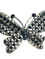 cheap -Women's Alloy Hair Clip - Solid Colored Butterly Style