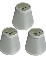 abordables -OYLYW 3pcs 15cm Accessoire d'ampoule Abat-jour Lin