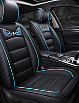cheap -ODEER Seat Covers Black/Blue PU Leather Cartoon for universal All years All Models