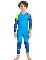 cheap -Boys' Dive Skin Suit UV Sun Protection, SPF30, Quick Dry Nylon / Spandex Full Body Beach Wear Diving Suit Snorkeling / Surfing / Diving