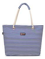 cheap -Women's Bags Oxford Cloth Tote Zipper for Casual Office & Career All Seasons Blue Black Fuchsia