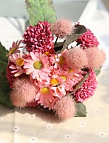 abordables -Fleurs artificielles 11 Une succursale Rustique / Mariage Chrysanthème / Plantes / Hortensias Fleur de Table