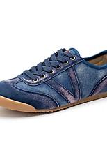 Недорогие -Муж. обувь Резина Весна / Лето Удобная обувь Кеды Серый / Синий / Хаки