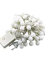 Недорогие -10 м Гирлянды 100 светодиоды Тёплый белый Холодный белый Разные цвета USB Водонепроницаемый Декоративная Работает от USB 1шт