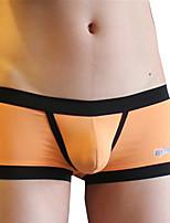 cheap -Men's Boxers Underwear / Briefs Underwear Solid Colored Mid Rise