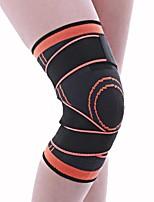 cheap -Knee Brace for Racing Basketball Jogging Running Unisex Impact Resistant Non-Slip Sports & Outdoor Nylon 1 Piece Black Orange Red Green