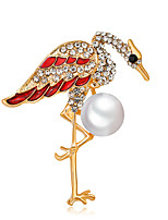 cheap -Women's Swan Brooches - Animals / Fashion / European Gold Brooch For Daily / Office & Career