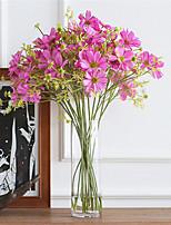 abordables -Fleurs artificielles 1 Une succursale style pastoral / Européen Marguerites Fleur de Table