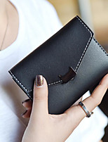 cheap -Women's Bags PU Wallet Buttons for Casual All Seasons Champagne Green Black