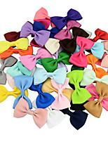 Недорогие -Швейные булавки Аксессуары для волос Шёлковая ткань рипсового переплетения парики Аксессуары Девочки 20pcs штук 1-4 дюйм 4-8 дюйм см Для