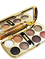 cheap -Makeup 8pcs Men / Men and Women / Eye Glitter Shine Combination / Dry / Normal Shadow Other Others Smokey Makeup / Cateye Makeup / Party
