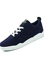 Недорогие -Муж. обувь Резина Лето Удобная обувь Кеды Серый / Красный / Синий