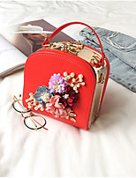 cheap -Women's Bags Terylene Clutch Zipper for Casual Red / Blushing Pink / Gray