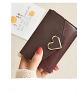 cheap -Women's Bags PU Wallet Buttons for Casual Green / Black / Red