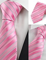 cheap -Men's Party Work Necktie - Striped