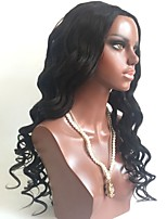 cheap -Virgin Human Hair Wig Brazilian Hair Body Wave Wavy Layered Haircut 130% Density With Baby Hair Natural Hairline Black Short Long Mid