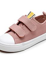abordables -Fille Garçon Chaussures Toile Printemps Confort Basket pour Décontracté Noir Rouge Rose